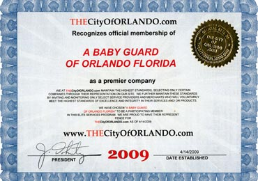 City of Orlando 2009 Award