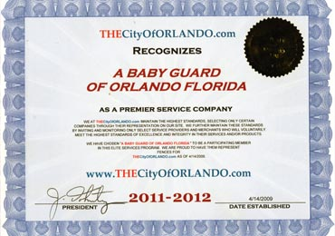 City of Orlando 2012 Award